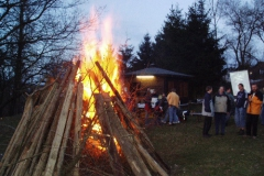 Osterfeuer 2005