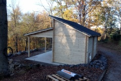 Aufbau des Hauses