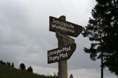 Wandern auf dem Dörnberg-Alpenpfad-Jägerpfad