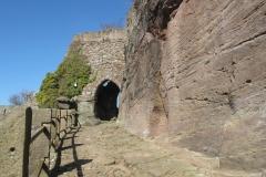 Wandern im Eichsfeld: Burg-Hanstein