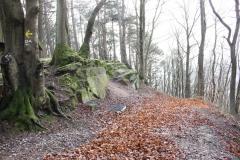 Wandern im Eichsfeld: Teufelskanzel