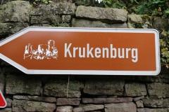 Wandern im Reinhardswald: Kruckenburg
