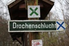 Wandern im Thüringer-Wald: Drachenschlucht