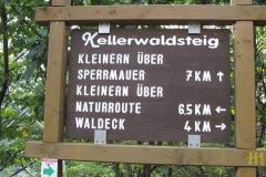 Wandern am Edersee: Kanzelroute