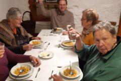 Letztes Essen der Kochgruppe vor der Coronakrise