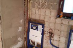 Renovierung der Herrentoiletten